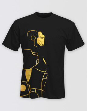 Marvel's Avengers - Adults Iron Man Foil T-Shirt