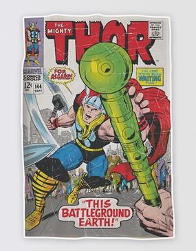 Marvel's Avengers - Thor Tea Towel