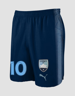 Sydney FC 18/19 Adults Home Shorts - Customised