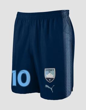 Sydney FC 18/19 Kids Home Shorts - Customised