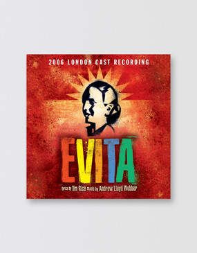 Evita London Cast Recording CD