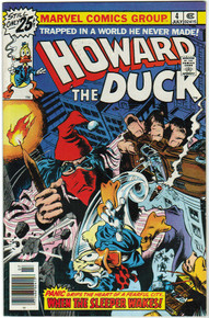 Howard the Duck #4 VF/NM