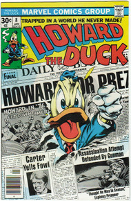 Howard the Duck #8 VF/NM