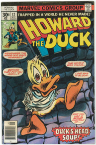 Howard the Duck #12 FN- Front Cover