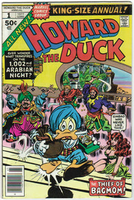 Howard the Duck Annual #1 VF Front Cover