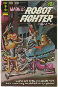 Magnus Robot Fighter #44 VF Front Cover