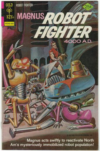 Magnus Robot Fighter #44 VF Front Cover