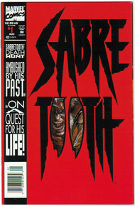 Sabretooth #1 NM Front Cover