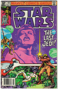 Star Wars #49 FN Front Cover