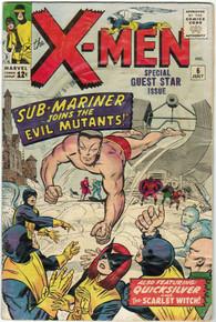 X-Men #6 VG Front Cover