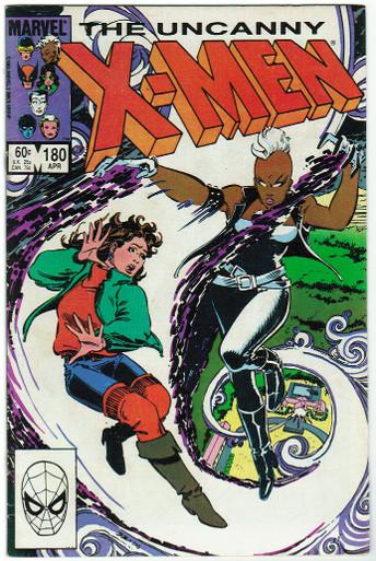 Uncanny X-Men #180 FN Front Cover