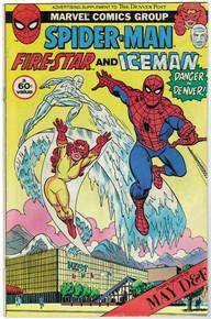 """Amazing Spider Man """"Danger in Denver"""" Denver Post Supplement VG Front Cover"""