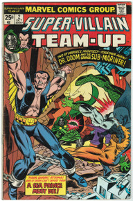 Super Villain Team Up #2 FN Front Cover