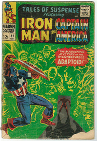 Tales of Suspense #82 GD Front Cover