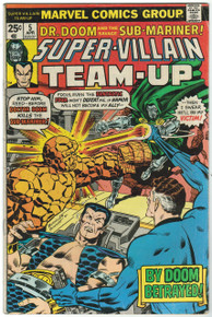 Super Villain Team Up #5 VG Front Cover