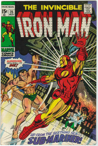 Iron Man #25 VF Front Cover