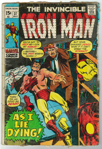 Iron Man #37 GD Front Cover