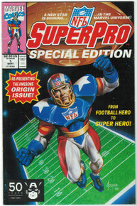 NFL SuperPro Special Edition #1 VF/NM Front Cover