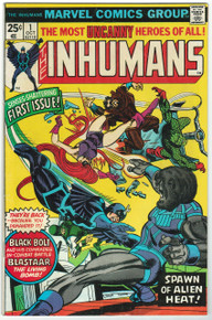 Inhumans #1 VF Front Cover