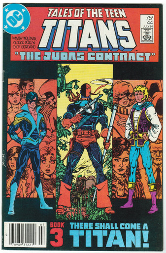 Tales of the Teen Titans #44 VF/NM Front Cover