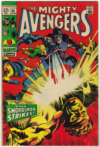 Avengers #65 FN Front Cover