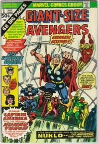 Giant Size Avengers #1 VG Front Cover