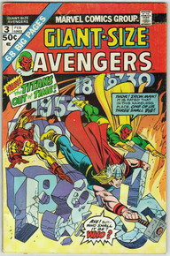 Giant Size Avengers #3 FN Front Cover