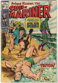 Sub Mariner #18 VG Front Cover