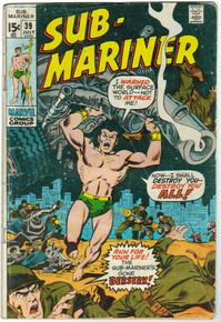 Sub Mariner #39 GD Front Cover