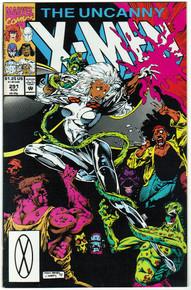 Uncanny X-Men #291 VF Front Cover