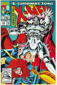 Uncanny X-Men #296 VF Front Cover