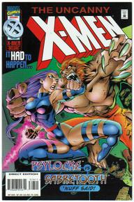 Uncanny X-Men #328 VF/NM Front Cover