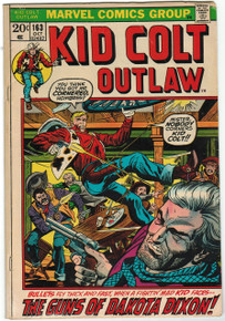 Kid Colt Outlaw #163 Fine