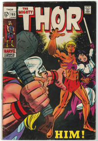 Thor #165 VG Front Cover