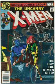 Uncanny X-Men #114 FN Front Cover