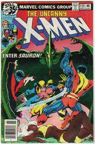 Uncanny X-Men #115 FN+ Front Cover