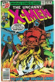 Uncanny X-Men #116 VG Front Cover