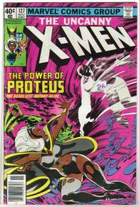 Uncanny X-Men #127 VG Front Cover