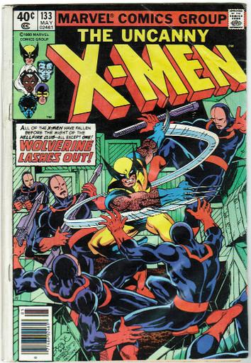 Uncanny X-Men #133 GD Front Cover