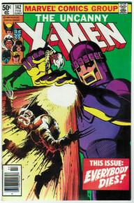 Uncanny X-Men #142 VF Front Cover