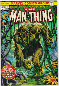 Man-Thing #1 VF+ Front Cover