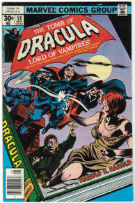 Tomb of Dracula #56 FN Front Cover