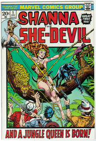 Shanna the She-Devil #1 NM Front Cover