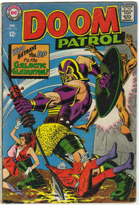 Doom Patrol #116 VG Front Cover