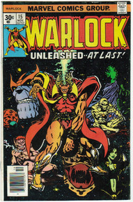 Warlock #15 FN Front Cover
