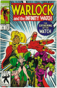 Warlock & the Infinity Watch #2 VF/NM Front Cover