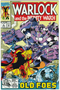 Warlock & the Infinity Watch #5 VF/NM Front Cover