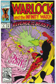 Warlock & the Infinity Watch #6 VF/NM Front Cover