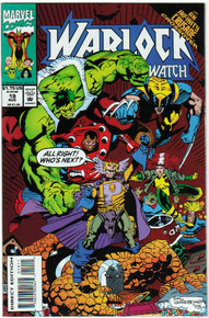 Warlock and the Infinity Watch #19 VF/NM Front Cover