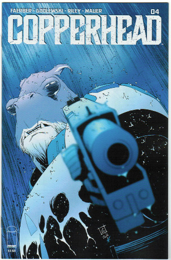 Copperhead #4 NM Front Cover